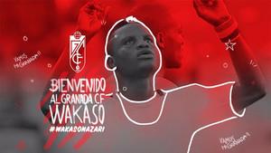 Wakaso ya es nuevo jugador del Granada
