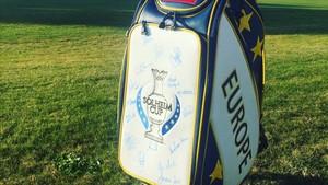 La bolsa de la Solheim que se subastará en el torneo de Terramar