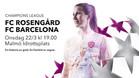 El Rosengard-Barça se disputará este miércoles a las 19:00h. en Malmö