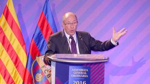 Manel Arroyo repasó aspectos de la actualidad del Barça