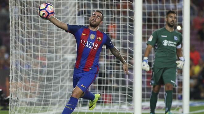Barça-Alavés de la Liga 2016/17