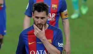 Messi se acordó de las víctimas del Manchester Arena