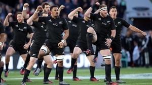 Los All Blacks y su tradicional Haka