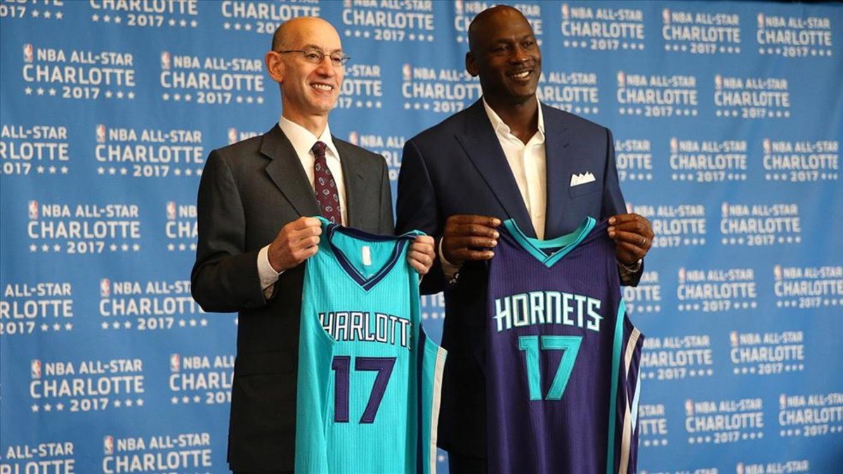 La NBA le levantó el castigo a Charlotte y será sede del All Star Game 2019