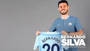 Bernardo Silva, nuevo fichaje del Manchester City