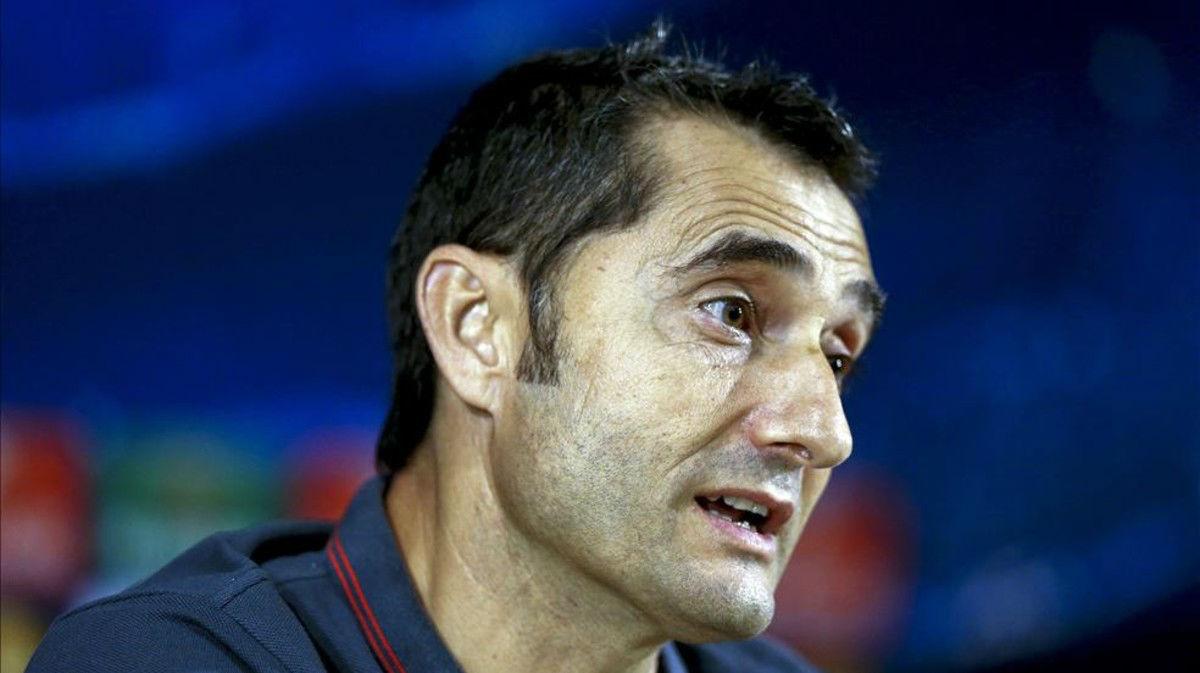 Valverde, destino Barça