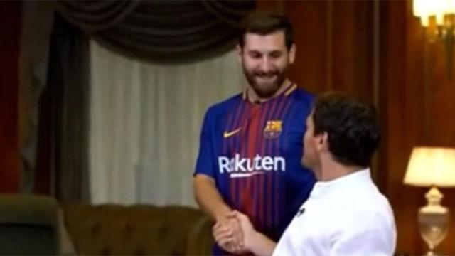 Iker Casillas, sorprendido por el doble de Messi