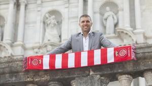 Delfí Geli ha llevado al Girona a la Liga Santander por primera vez en su historia
