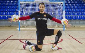 Paco Sedano quiere volver a levantar una Champions con el FC Barcelona Lassa