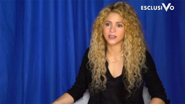 Shakira concedió una entrevista al programa Verissimo
