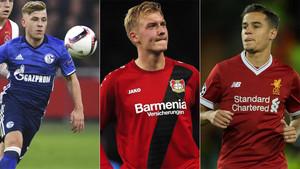 Meyer, Brandt y Coutinho, en la agenda de futuribles del Barça