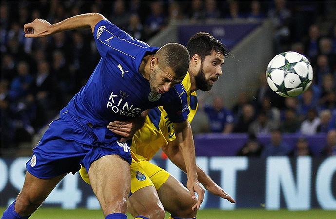Ag�nica victoria del Leicester sobre el Porto