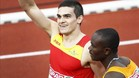 Bruno Hortelano logró un oro histórico en los 200 metros