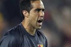 Claudio Bravo mantuvo su porter�a a cero ante Getafe y C�rdoba