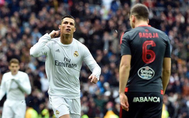 El Real Madrid vapulea al Celta para aliviar la crisis