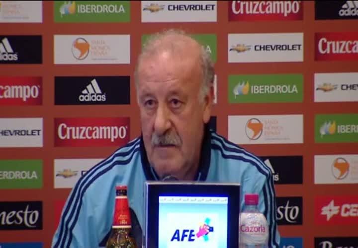 """Del Bosque: """"Estoy deseando que Madrid y Bar�a lleguen a la final de la Champions"""""""