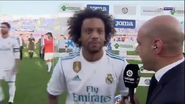 LALIGA   Getafe - Real Madrid (1-2): Las declaraciones de Marcelo en Getafe