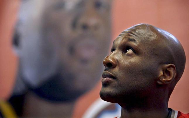 Lamar Odom deja el hospital de Los �ngeles