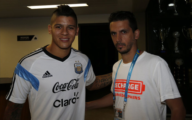 marcos rojo tattoos images