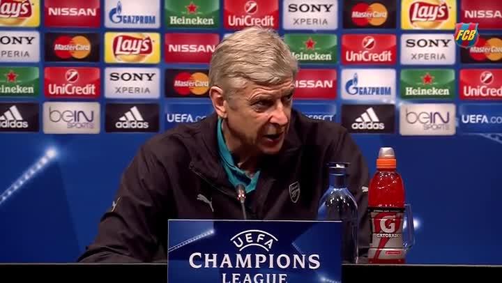 """Wenger: """"No tenemos que hacer c�lculos: solo atacar"""""""