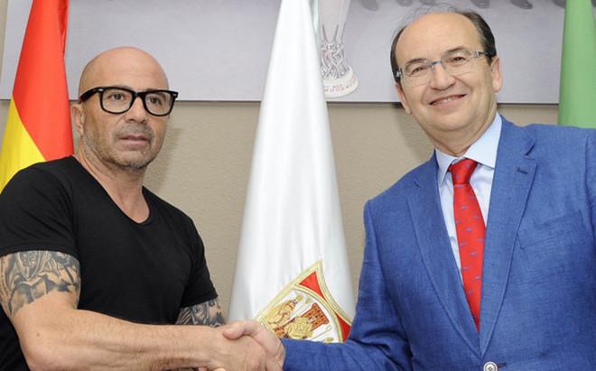 Sampaoli, nuevo entrenador del Sevilla