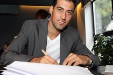 Sergio Busquets volver� a estampar su firma para renovar con el Bar�a