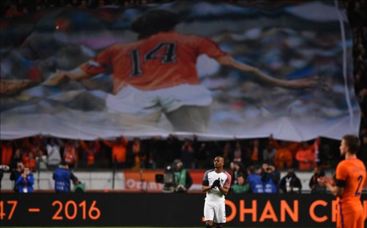 El minuto 14, minuto de Cruyff en el Holanda-Francia
