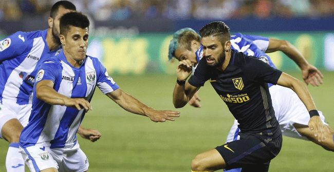 Video resumen Legan�s - Atl�tico. Jornada 2 Liga Santander 2016-17
