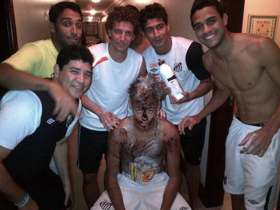 Neymar, pringado