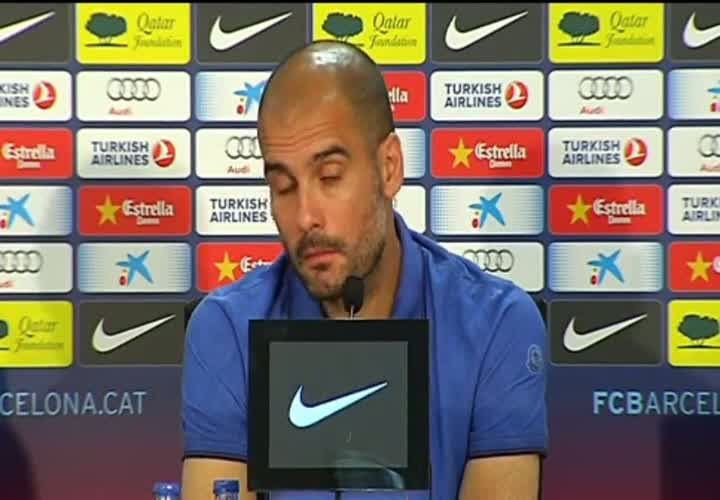 Guardiola descarta que su desgaste sea por Mourinho