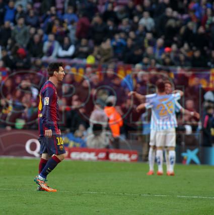 صور : مباراة برشلونة - ملقا  0-1 ( 21-02-2015 )  1424541191924