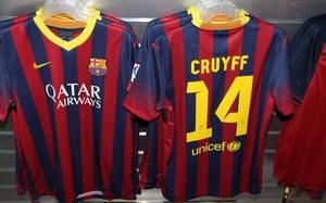 El 14 es el número con el que siempre se identifica a Cruyff