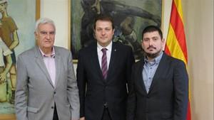 Josep Bochaca, Gerard Figueras y Antoni Palacios