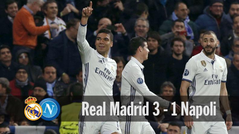 Las mejores imágenes del Real Madrid - Napoli (3-1)