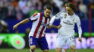 Koke y Modric estuvieron en la órbita del Barça