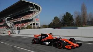 Alonso, en los test del Circuit