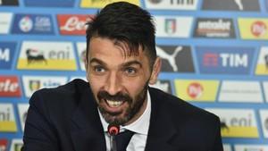 Buffon bromeó respecto al momento de su retirada