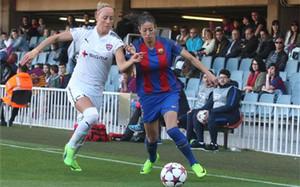 El Barça femenino puedo hacer historia frente al PSG