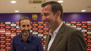 Sito Alonso y Nacho Rodríguez planifican el nuevo Barça 2017-18
