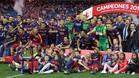 El FC Barcelona es el 'rey de copas'. En 2016 conquistó su título número 28 (imagen) y este sábado el 29