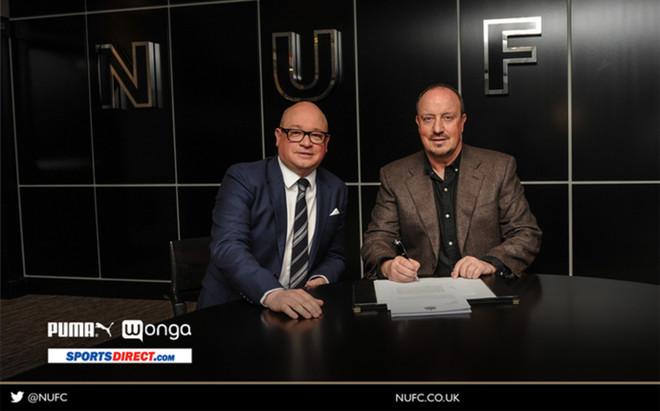 Ben�tez ha renovado con el Newcastle.