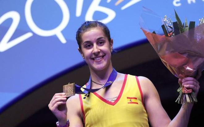 Carolina Mar�n, campeona mundial y doble campeona europea, ser� una de las candidatas al oro en R�o