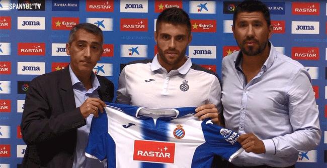David L�pez fue presentado con el Espanyol