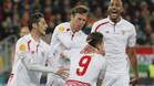 El Sevilla empata y se acerca a la final de Basilea