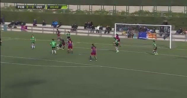 Irene del R�o marc� el gol de la semana para Women's Soccer United