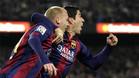 Mathieu y Suárez los goleadores de la noche del clásico