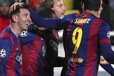 Messi y Luis Suárez fueron decisivos ante el APOEL