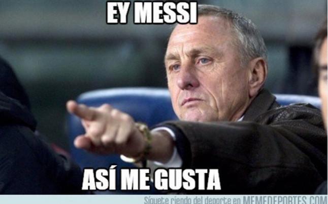 "Los memes del Bar�a - Celta: ""Ya s� podemos decir que Messi es mejor que Robben"""