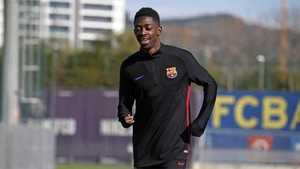 Ousmane Dembélé sigue con su recuperación
