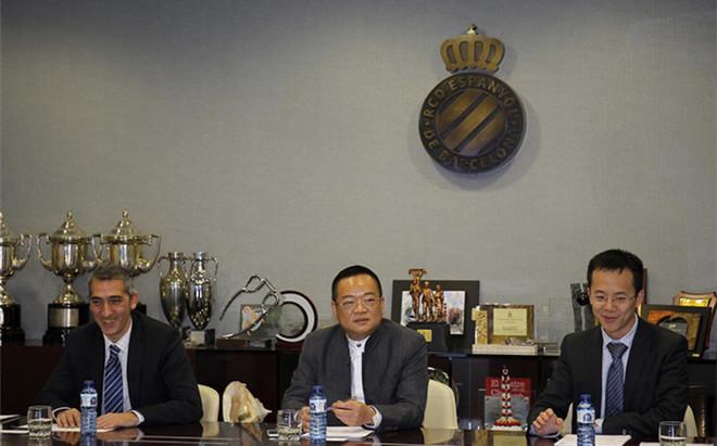 Ramon Robert y Mao Ye Wu son los hombres de confianza del presidente Chen